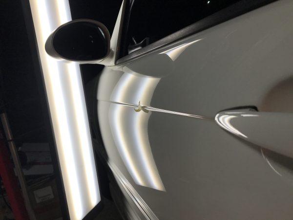 BMW M3 左フロントドアに出来たヘコミをデントリペアで修復 神戸市垂水区にお住いの方からご依頼を頂きました!!