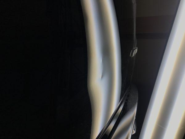 オデッセイ リアハッチバックドアに出来た凹みをデントリペアで修復 三木市にお住まいの方からご依頼頂きました!!
