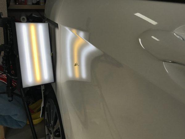 フリード 右スライドドアに出来た凹みをデントリペアで修復 兵庫県加東市にお住まいの方からご依頼頂きました!!