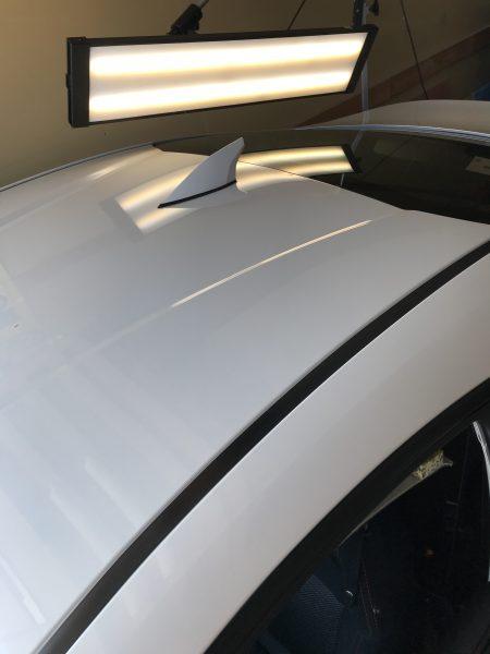 トヨタ 86 ルーフに出来た凹みをデントリペアで修復 大阪市内の方からご依頼頂きました!!