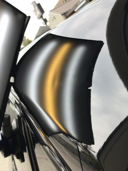 ジャガー I-PACE  左リアのクォーターパネルに出来た凹みをデントリペアで修復  神戸市長田区にお住いの方からご依頼を頂きました!!