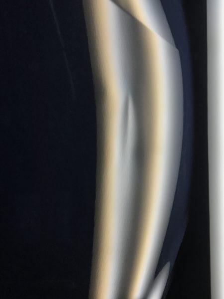 インプレッサ スポーツ 運転席のドアに出来た凹みをデントリペア修理 神戸市西区からお越し頂きました!!