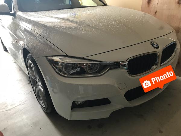 BMW 320d ルーフに出来た凹み 三田市の方からご依頼