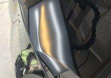 エスカレード 左フロントフェンダーに出来た凹みをデントリペアで修復 神戸市北区の業者様からのご依頼です!!